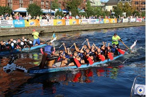 JFTC Team took part in the Dragon Boat Race on the Brda River in Bydgoszcz