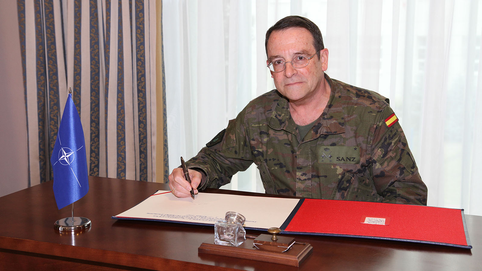 Major General Sanz Explores JFTC