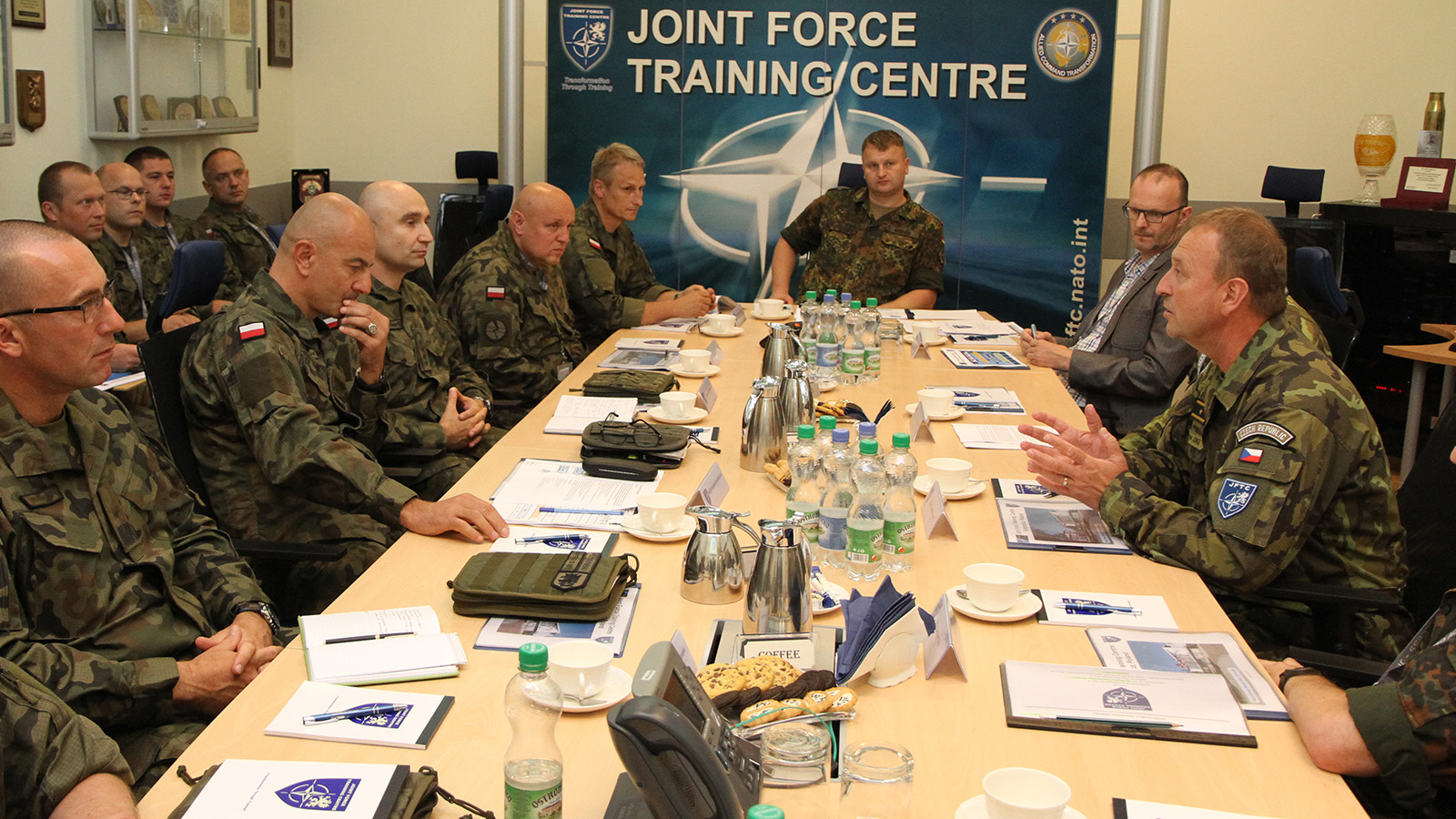 Polish 12th Mechanized Division Explores JFTC