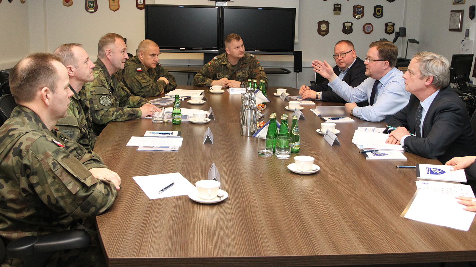 NATO's Assistant Secretary General for Operations visits Joint Force Training Centre