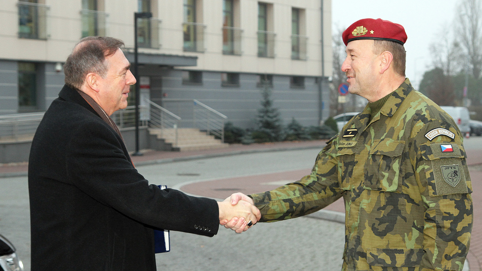 NATO Communications and Information Agency General Manager at Joint Force Training Centre