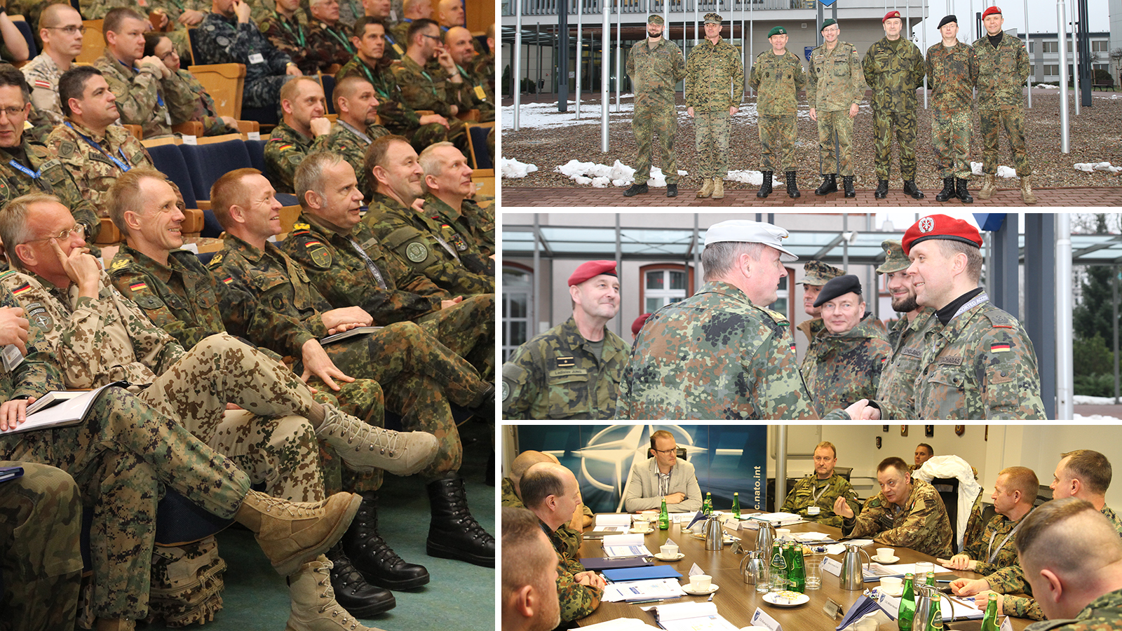 Generals at Resolute Support Pre-Deployment Training
